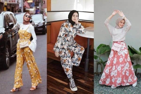 Hijab Motif Floral
