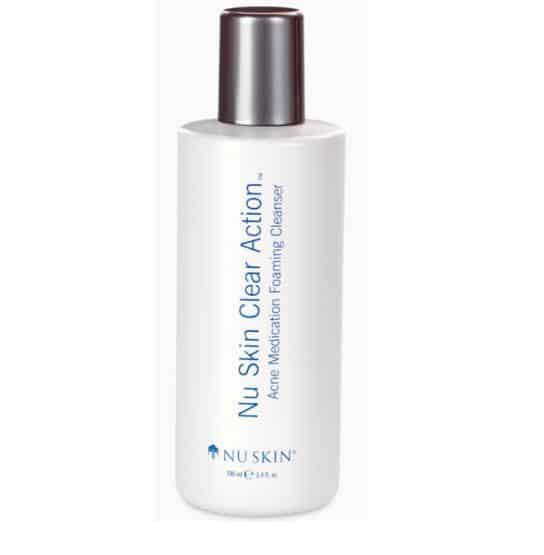 Nu Skin Clear Action Acne Medication Foaming Cleanser