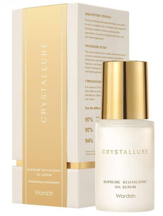 Wardah Crystallure Supreme Revitalizing Oil Serum
