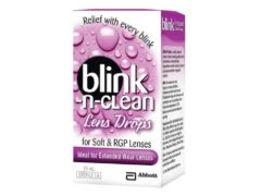 Blink-N-Clean Lens Drops
