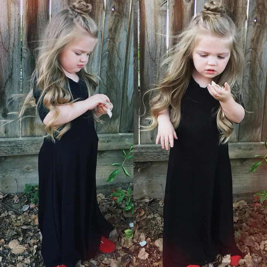 10 Inspirasi Gaya Rambut Simple untuk Anak Saat Pesta