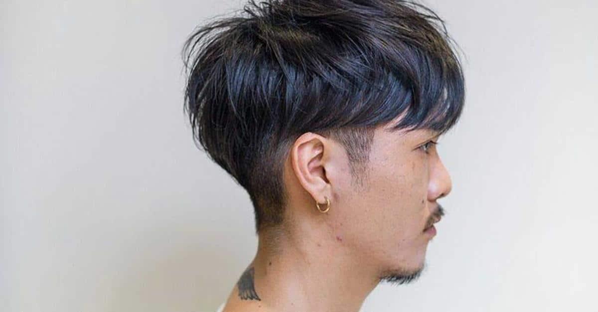 Two Block hair Undercut