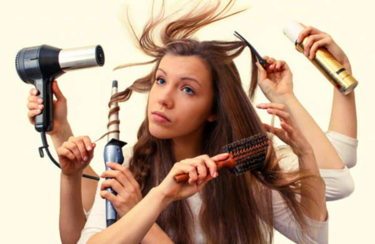 Apa Penyebab Rambut Kering