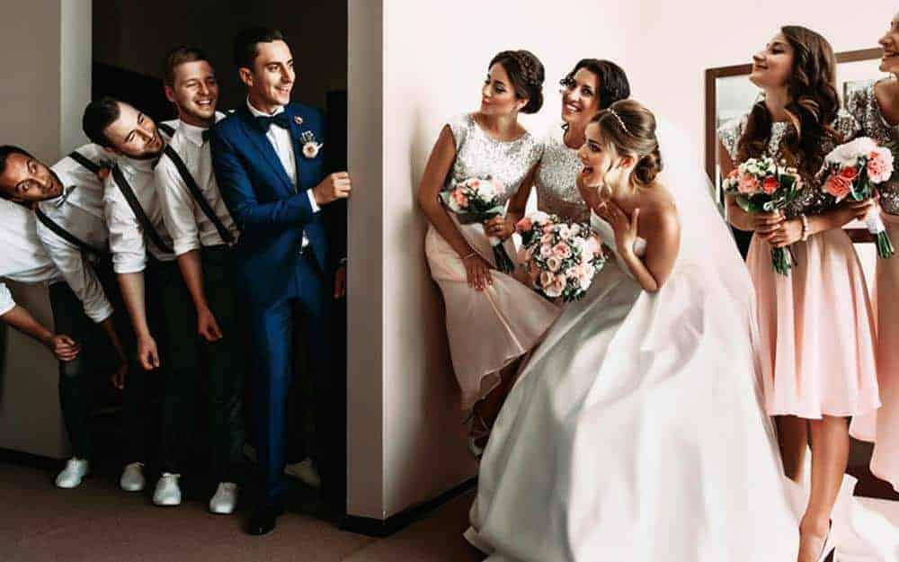 Foto-Lucu-Bersama-Bridesmaids-Groomsmen