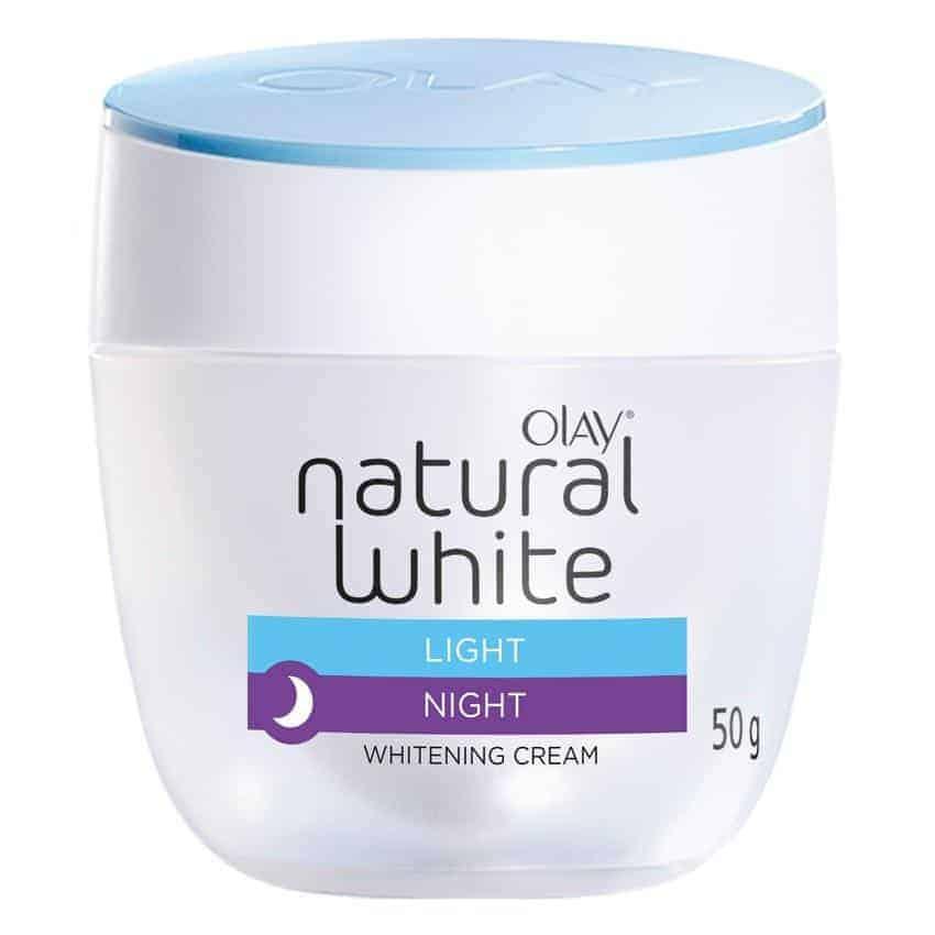 Olay Natural White Light Light UV Protection Night Cream