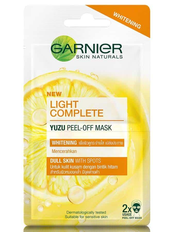 Produk Peel Off Mask terbaik_Garnier Light Complete Peel-Off Mask (Copy)