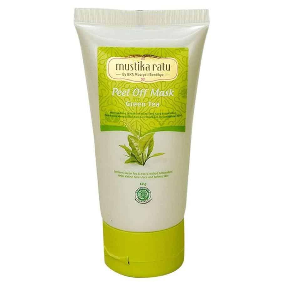 Produk Peel Off Mask terbaik_Mustika Ratu Peel-Off Mask Green Tea (Copy)