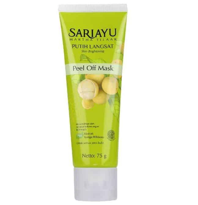 Produk Peel Off Mask terbaik_Sariayu Peel-off mask Putih Langsat (Copy)