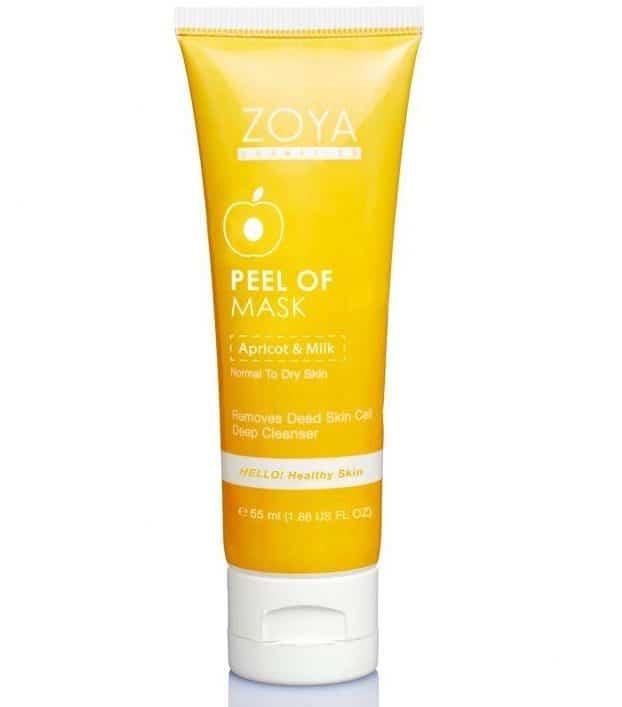 Produk Peel Off Mask terbaik_Zoya Peel-Off Mask Apricot and Milk (Copy)