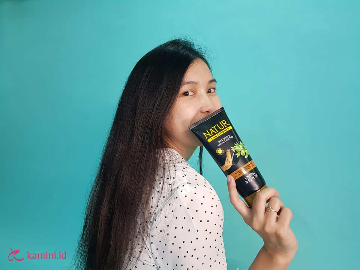 Review Natur Hair Conditioner_feeling