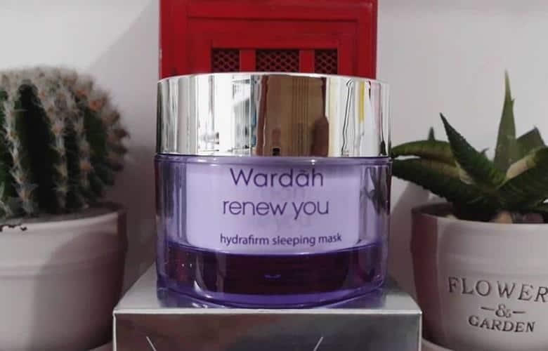 Wardah Renew You Anti Aging Hydrafirm Sleeping Mask