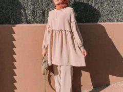 Warna JIlbab untuk baju peach_monokrom (Copy)