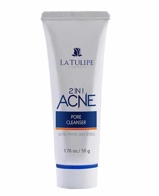 cara menggunakan la tulipe acne series_La Tulipe 2 In 1 Acne Pore Cleanser (Copy)