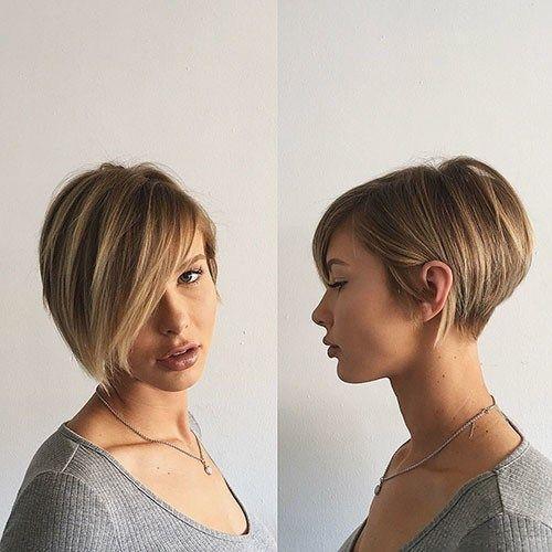 Model Rambut Pendek Untuk Wajah Bulat Dan Rambut Tipis