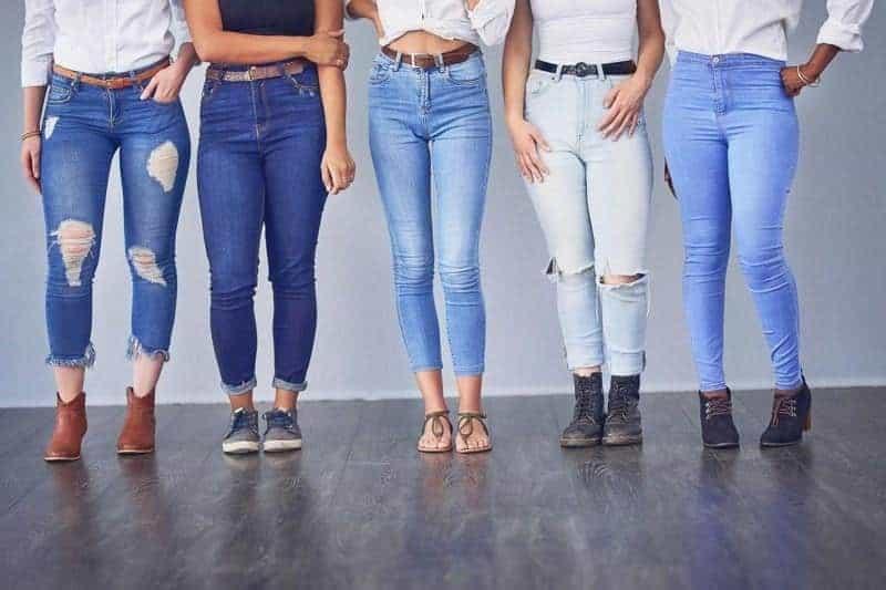 Celana Jeans Yang Mengandung Bahan Lycra