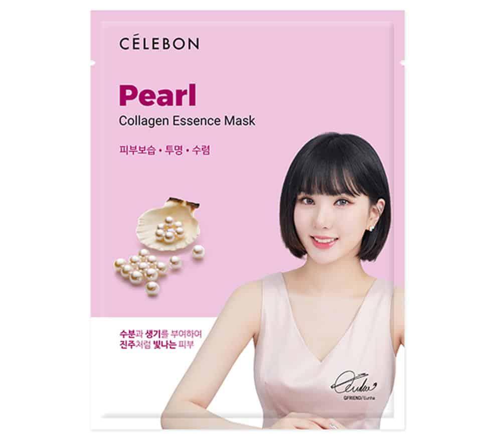 Celebon Pearl Collagen Essence Mask