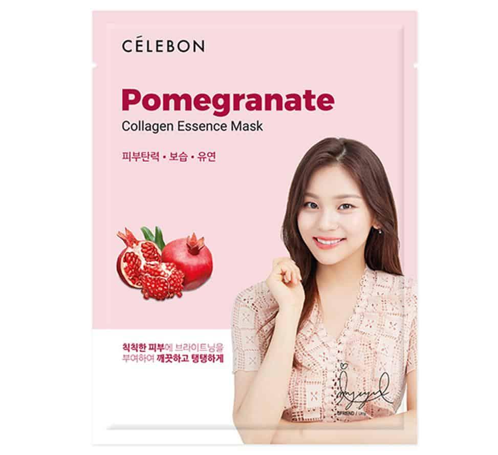 Celebon Pomegranate Collagen Essence Mask