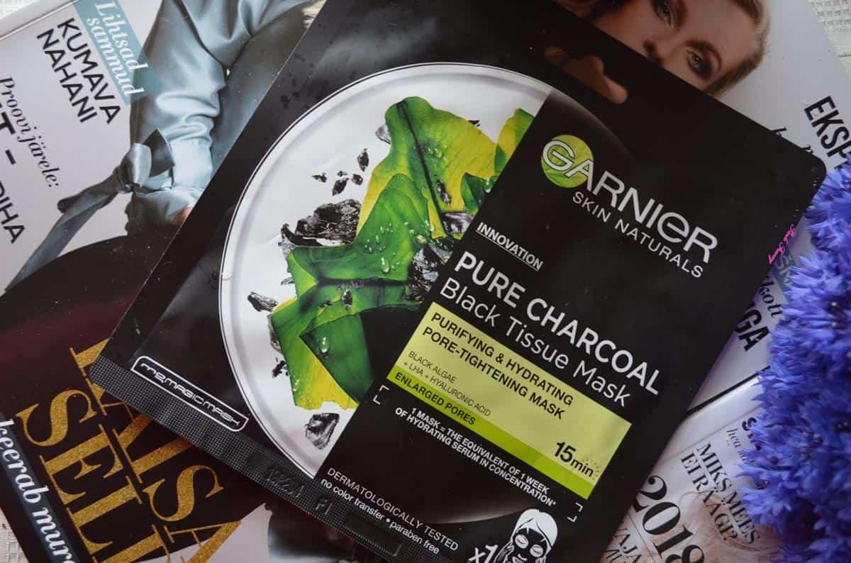 Garnier Black Serum Mask Pure Charcoal Black Algae