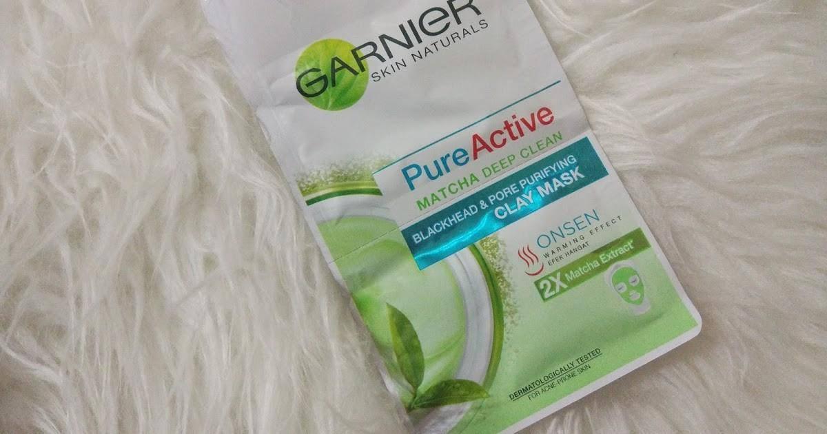 Garnier Pure Active Matcha Deep Clean Blackhead & Pore Purifying Clay Mask
