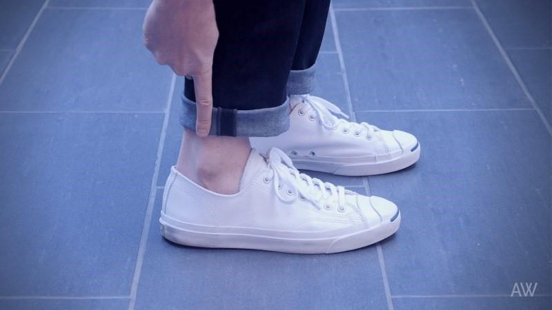 Melipat Celana Jeans Slim Fit