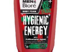 Men's Biore Body Foam Hygienic Energy