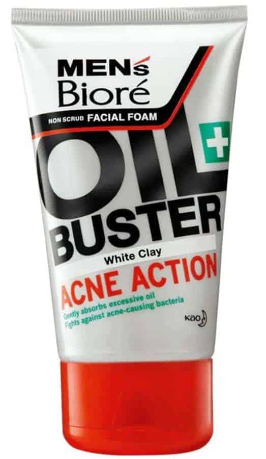 Men's Biore Oil Buster Acne Action