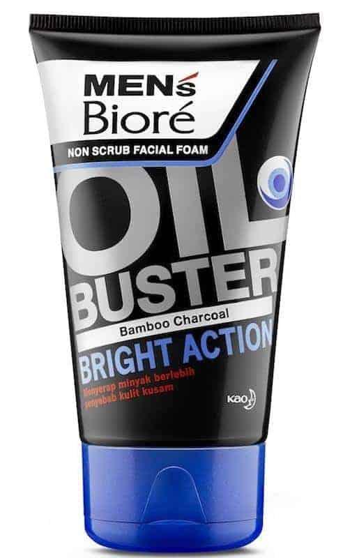 Men's Biore Oil Buster Bright Action