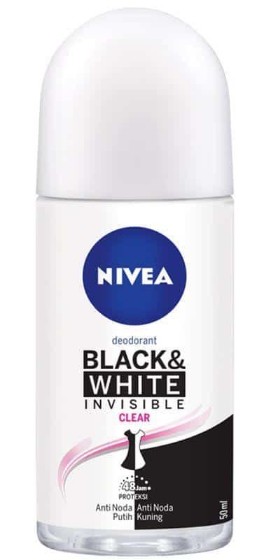 Nivea Invisible Black & White Clear Roll On