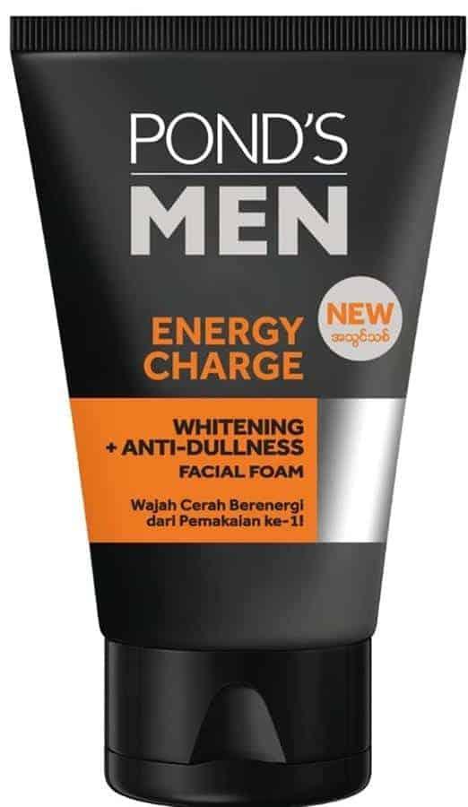 Pond's Men Energy Charge Whitening Anti Dullness Facial Foam
