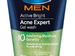 Vaseline Men Active Bright Acne Expert Gel Wash