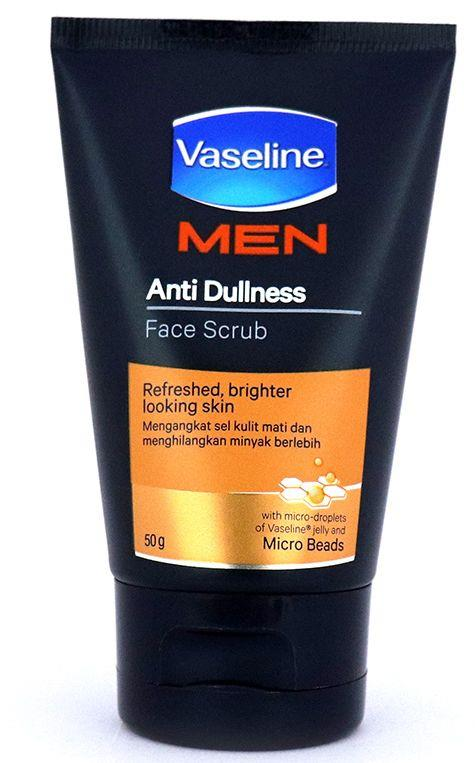 Vaseline Men Face Anti-dullness Face Scrub