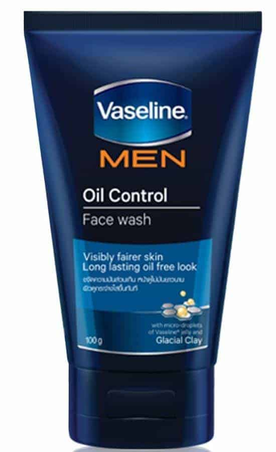 Vaseline Men Face Oil Control Face Wash