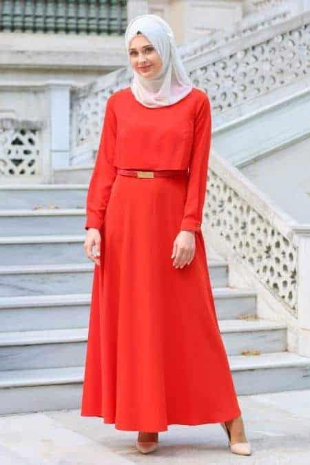 warna hijab untuk baju oranye_broken white (Copy)
