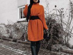 warna hijab untuk baju oranye_hitam (Copy)