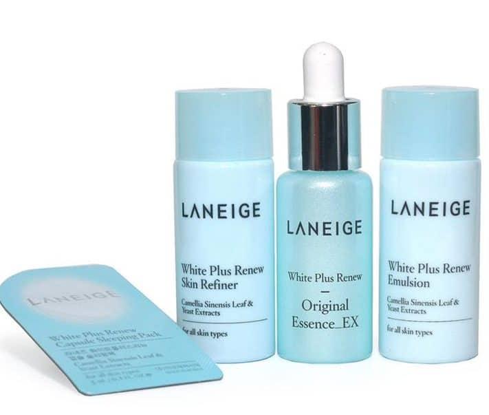 Cara Pakai Laneige White Plus Renew Trial Kit_2 (Copy)