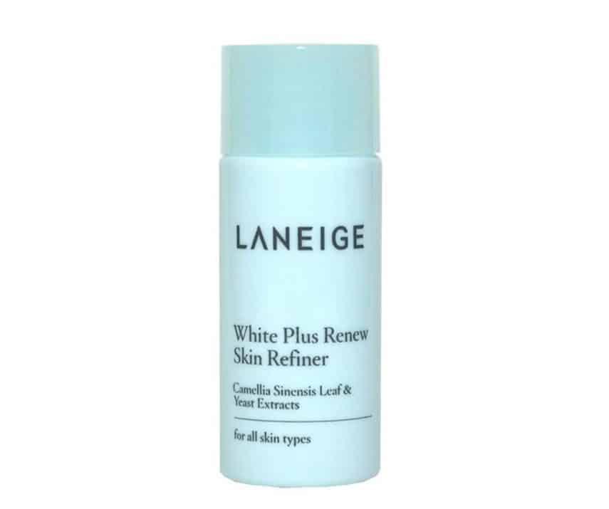 Cara Pakai Laneige White Plus Renew Trial Kit_Gunakan White Plus Renew Skin Refiner (Copy)
