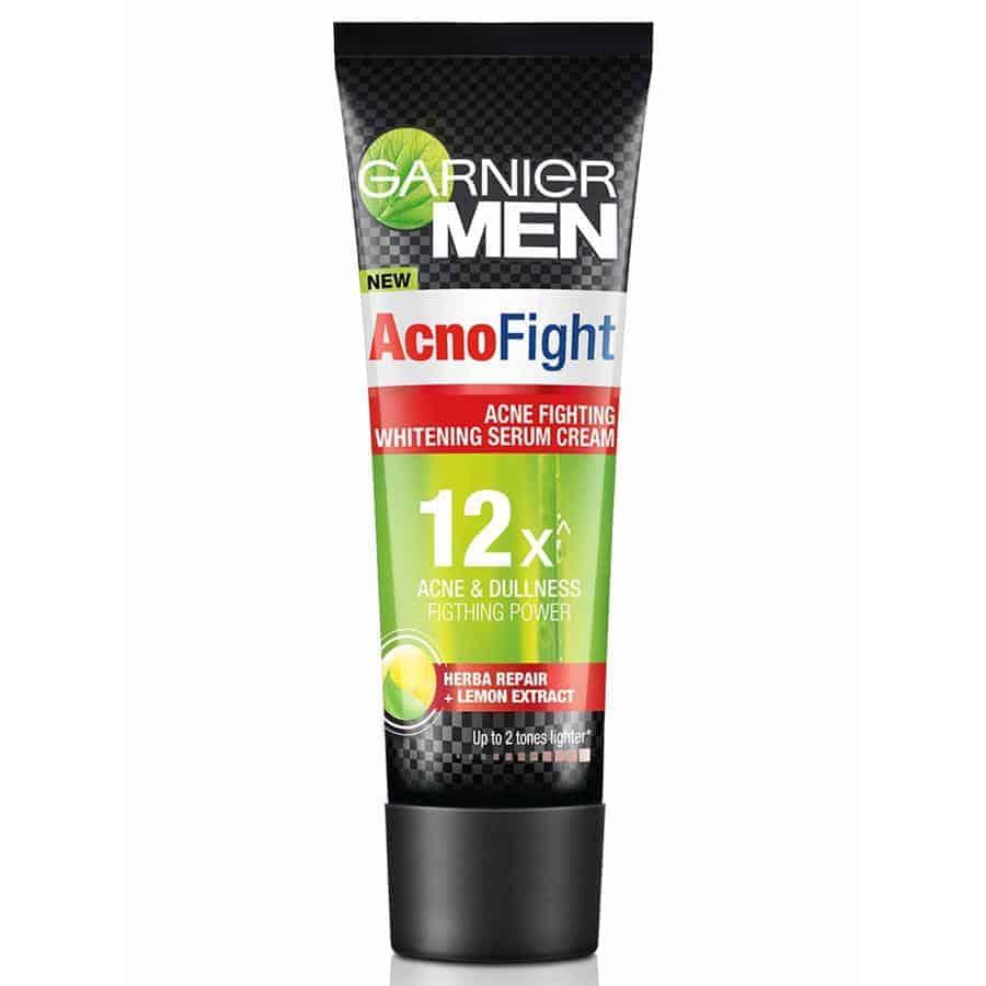 Garnier Men Acno Fight Acne Fighting Whitening Serum Cream