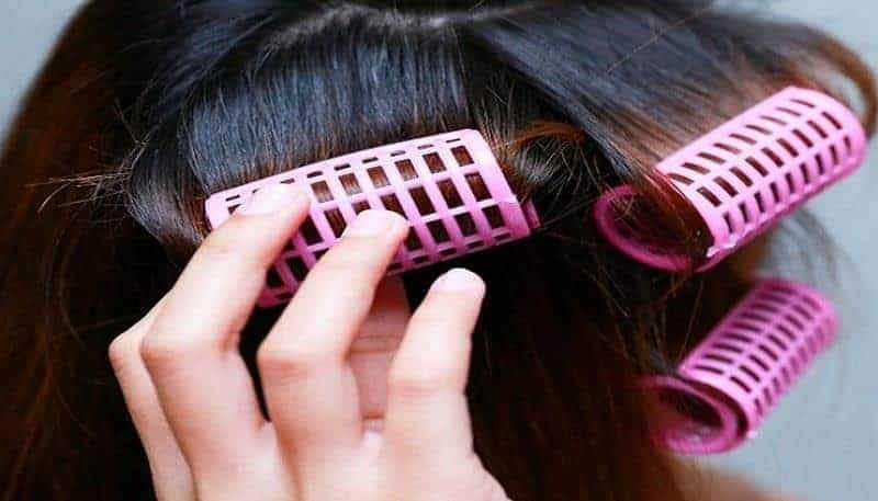 Gunakan Roll Rambut