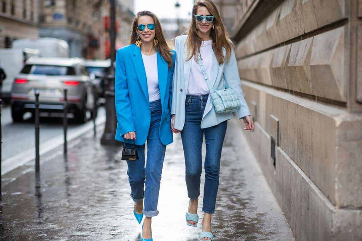 Jeans dan Blazer
