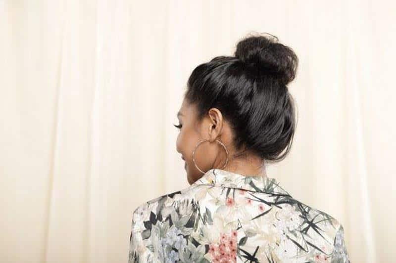 Keriting Rambut Dengan Cara Dicepol