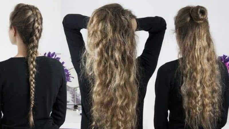 Keriting Rambut dengan Cara Dikepang