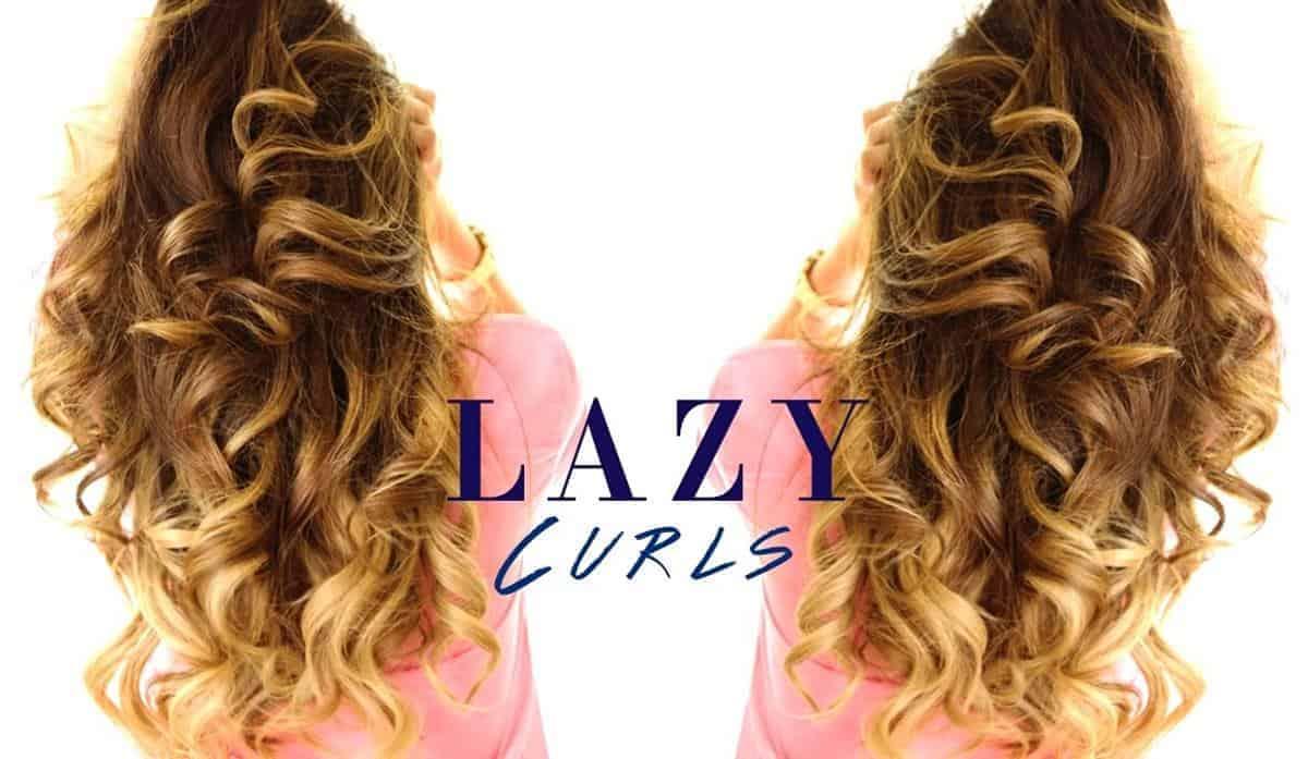 Membuat Gaya Keriting Lazy Curl dengan Catokan Curly