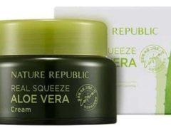 Nature Republic Real Squeeze Aloe Vera Cream