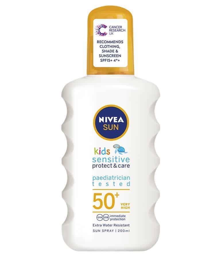 Nivea Sun Kids Sensitive Protect & Care Spray SPF 50+