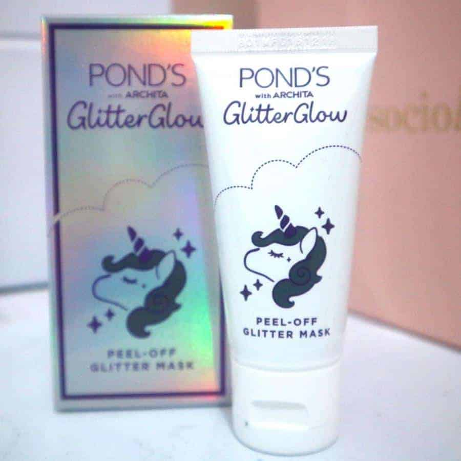 Pond's Glitter Glow Mask Tube