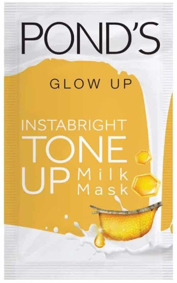 Pond's Tone Up Milk Mask Honey