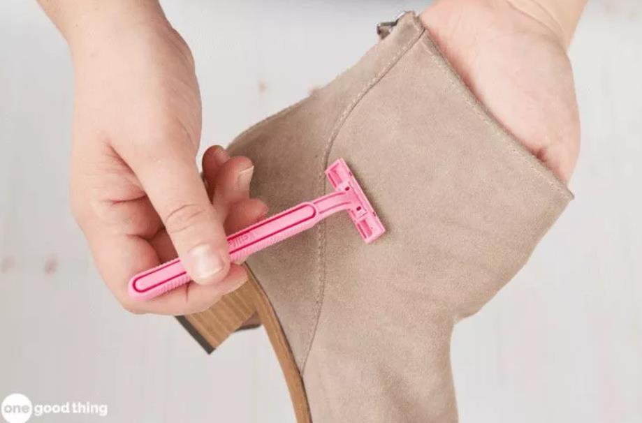 Cara membersihkan sepatu suede_cukur (Copy)