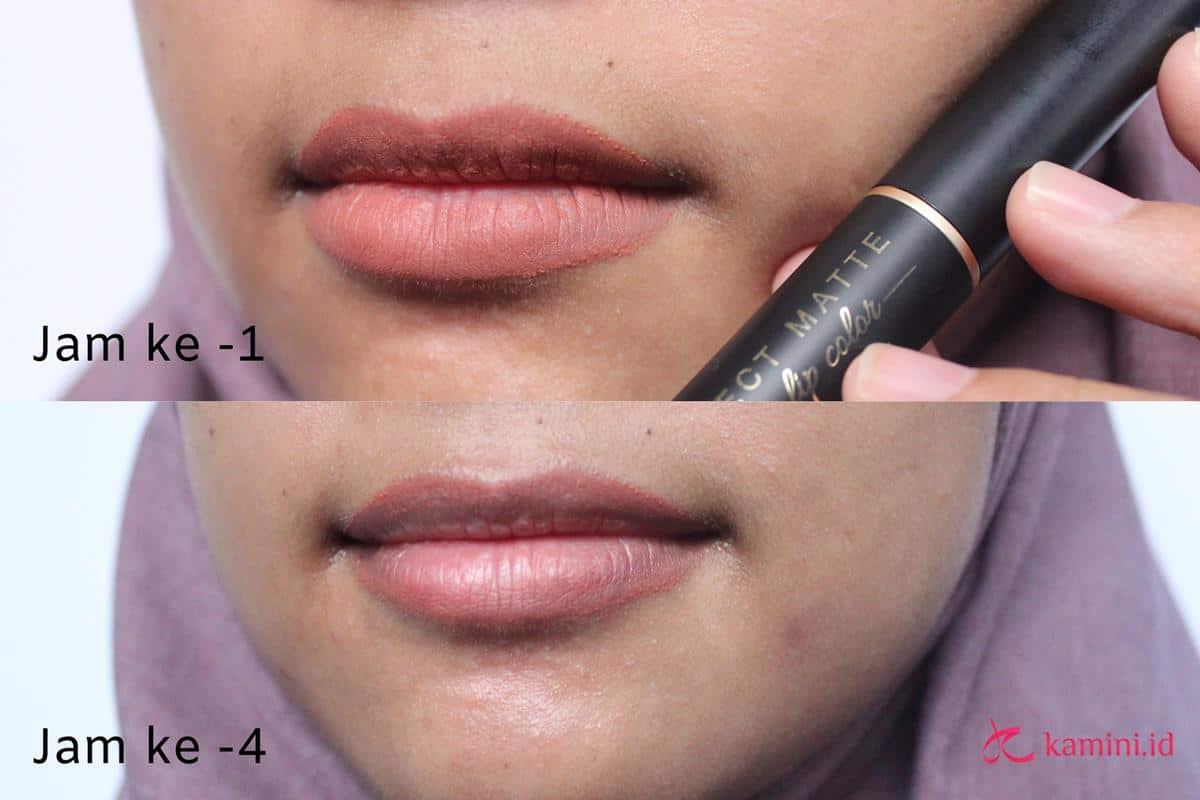Review Lipstik Matte Viva ketahanan