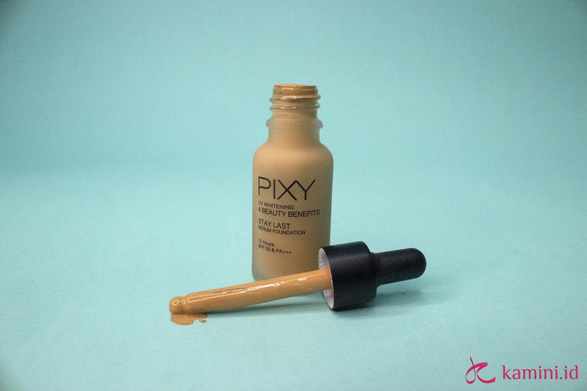 Review Pixy serum foundation_2