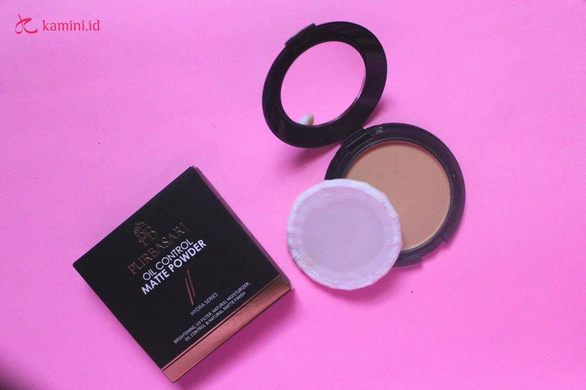 Review Purbasari Oil Control Matte Powder yang Ramah Kantong 45